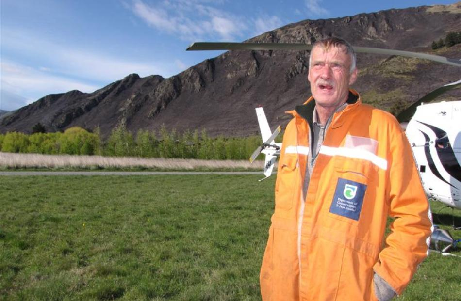 Department of Conservation ranger and rural fire officer Paul Hondelink was one of three people killed when a helicopter crashed near Wanaka Airport yesterday. Photo: ODT