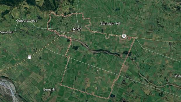 Emergency services attended the incident at a farm in Oxford yesterday about 4pm. Image: Google Maps