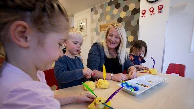 Katy Brown, centre manager at The Learning Corner in Ellerslie, says her qualified teachers earn...