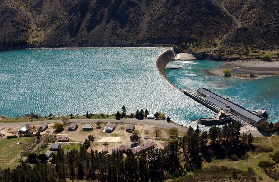 Lake Waitaki Village, built during construction of the Waitaki Dam, is for sale. Photo: ODT.