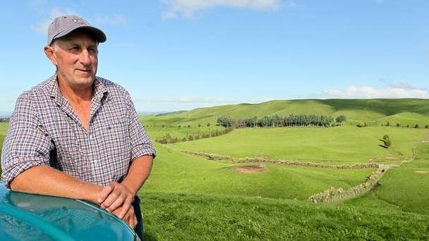 Paul Renton was Hawke's Bay farmer of the year for 2017. Photo via NZ Herald