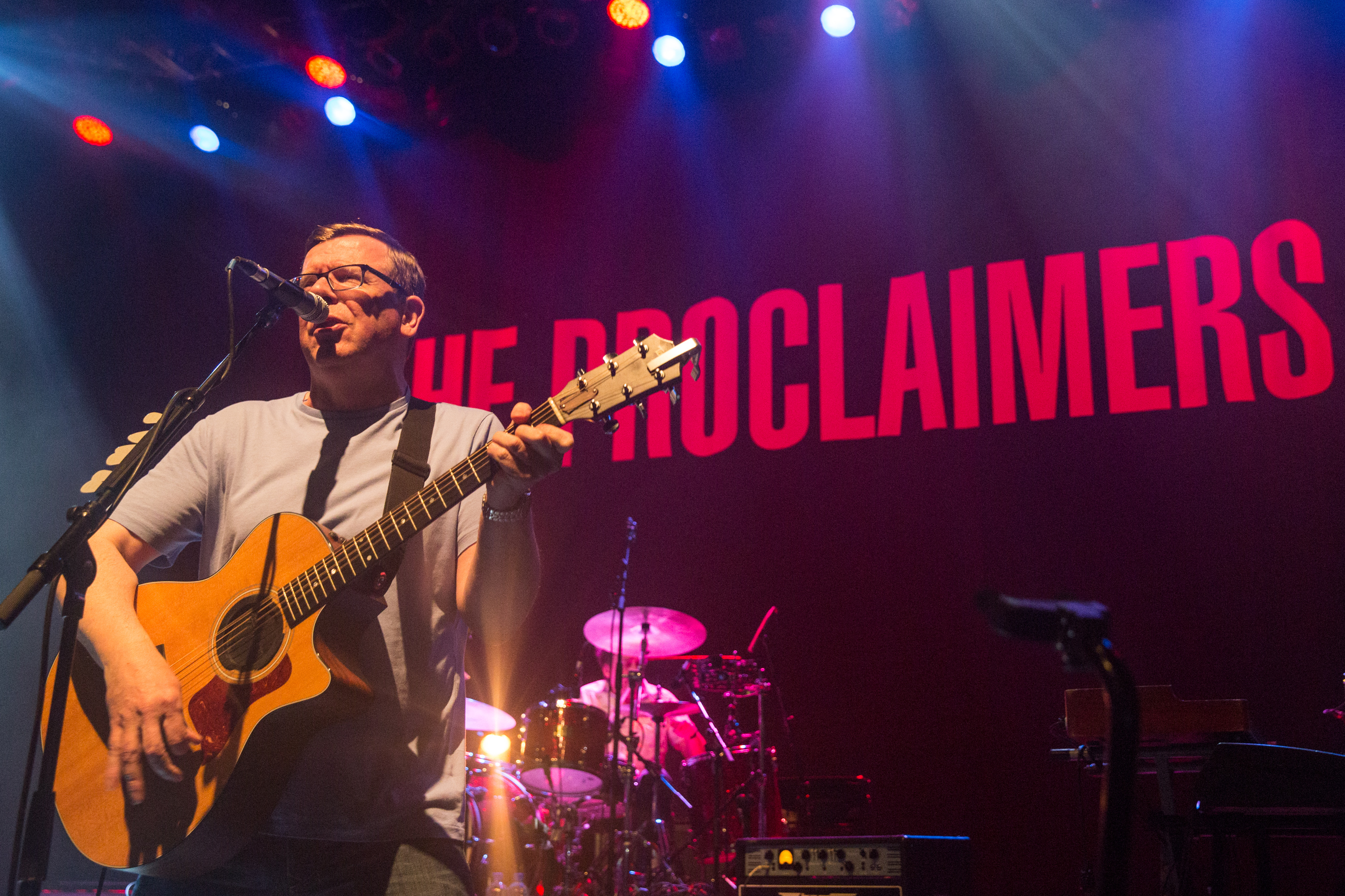 Charlie Reid of The Proclaimers performs at O2 Shepherd's Bush Empire on November 5, 2015 in London. Photo: Getty Images