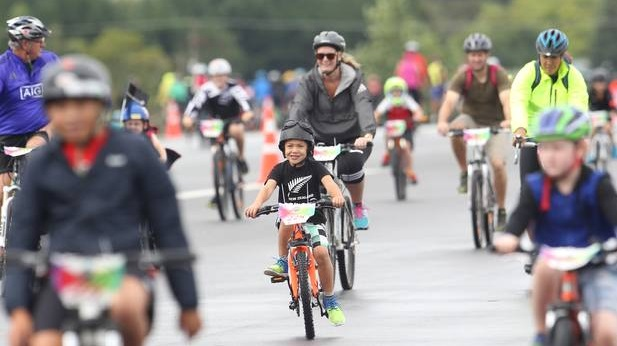 The Government aims to get more kids biking regularly. Photo: NZME