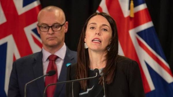 Prime Minister Jacinda Ardern and Health Minister David Clark. Photo: NZ Herald