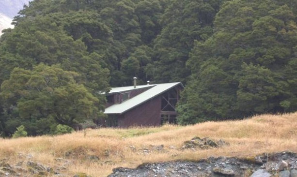 The Otago Boys' High School lodge in the Matukituki Valley. Photo: ODT files