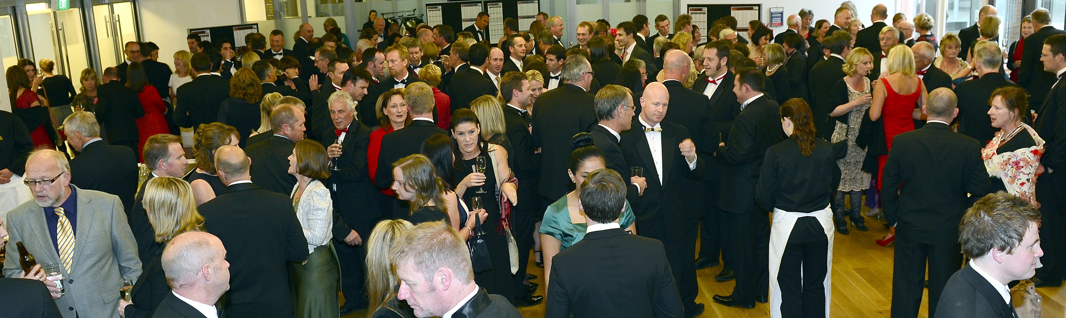 Local business-people enjoying a previous Westpac Otago Business Awards evening.