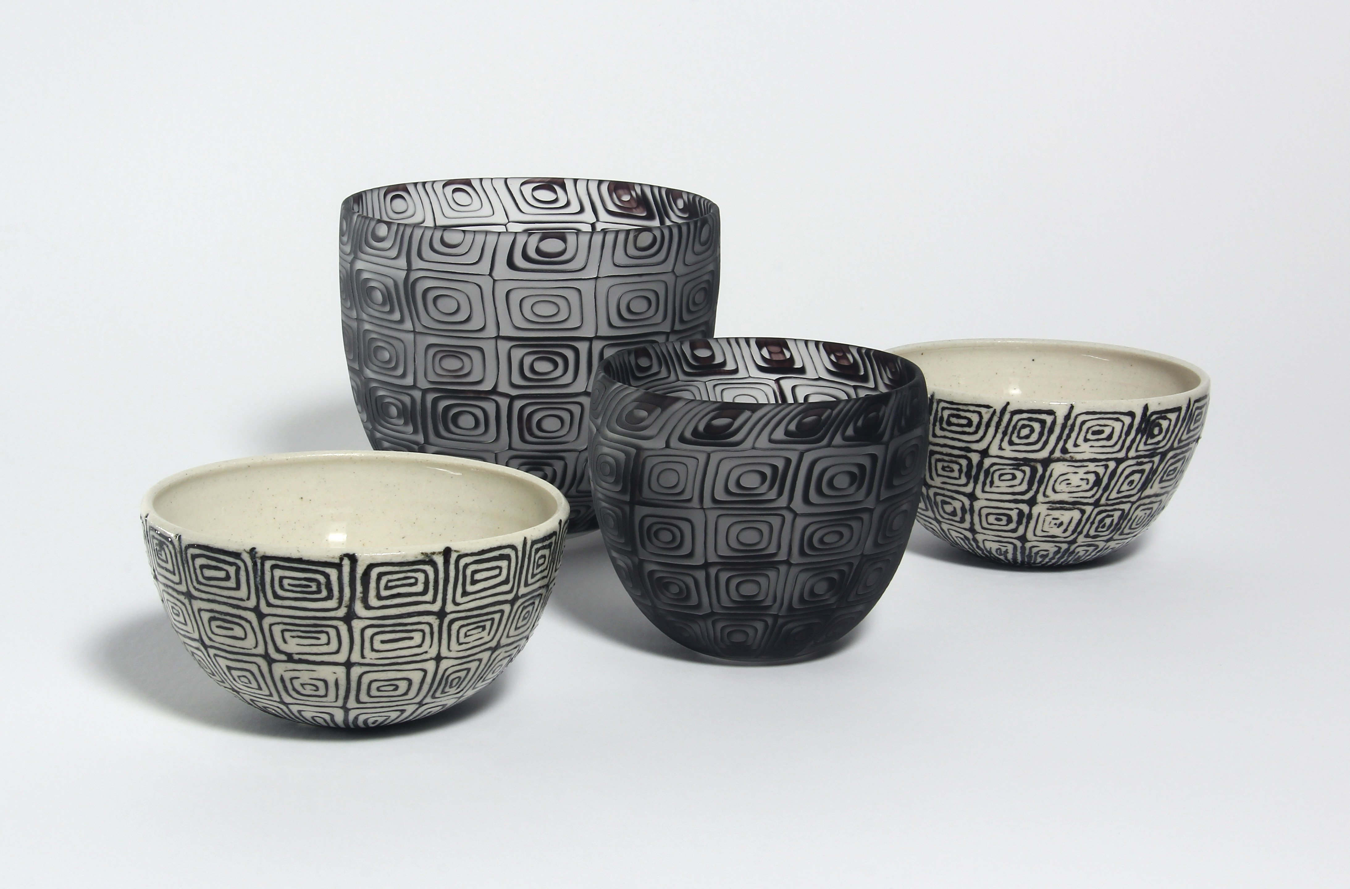 Concentric Bowl Set, by Emily Siddell and Stephen Bradbourne