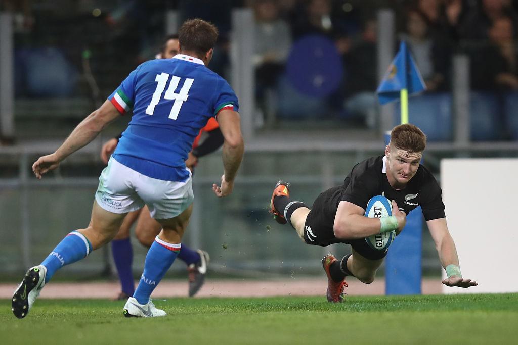 All Blacks thrash Italy 66-3 in Rome