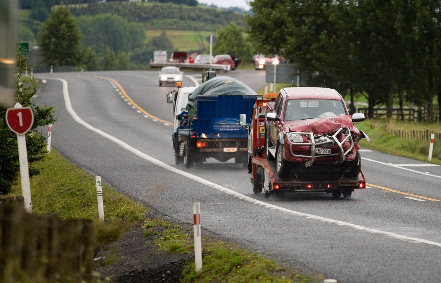 The stretch of road through Dome Valley north of Warkworth in the North Island has claimed...