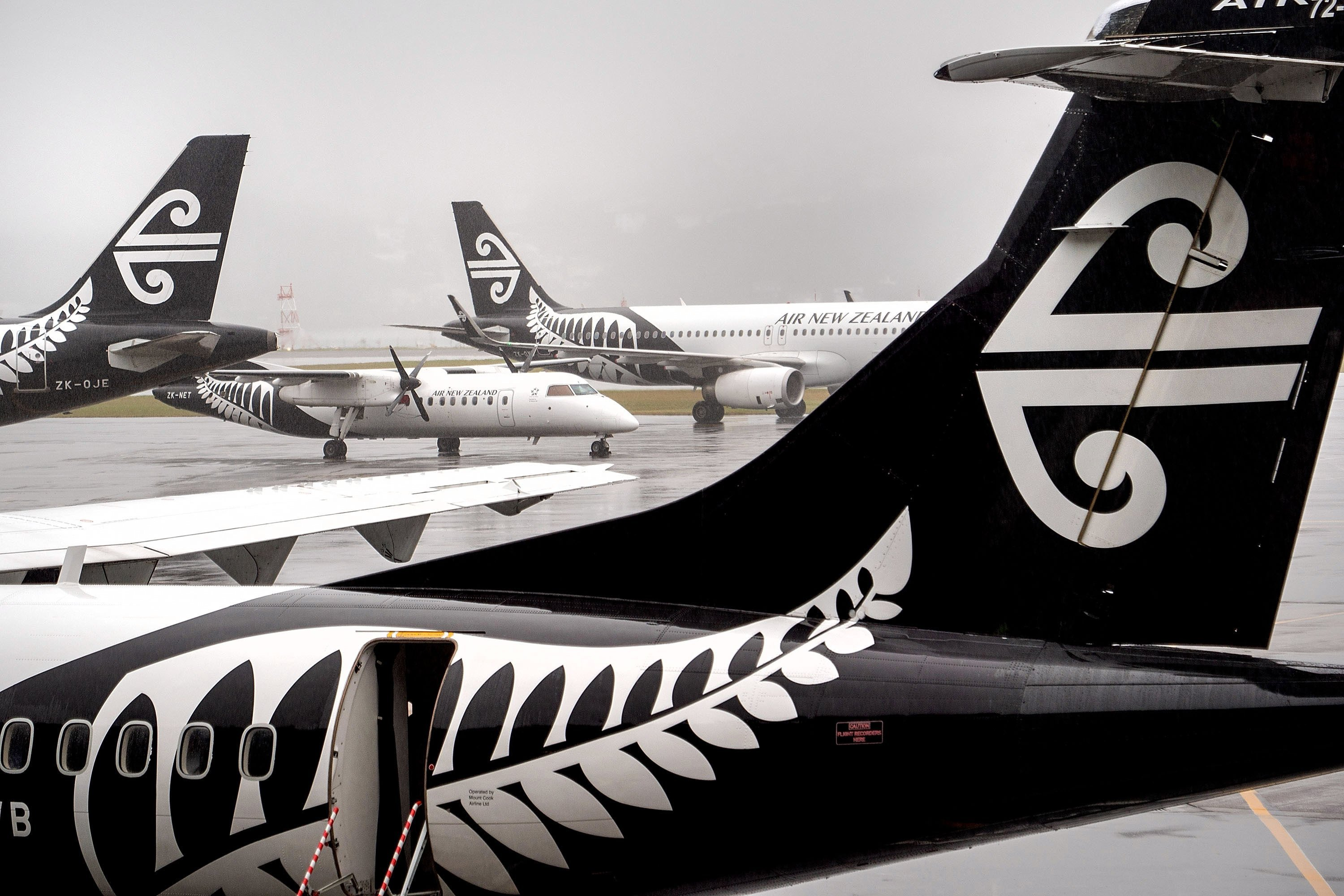 Since The Late 1960s Air New Zealand S Koru Liveried Aircraft Have Been A Familiar