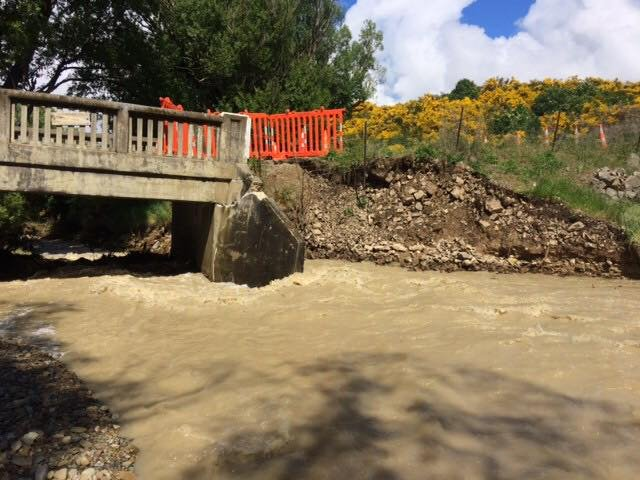 About $350,000 will be spent replacing Bridge 94, which crosses Station Creek on the St Bathans...