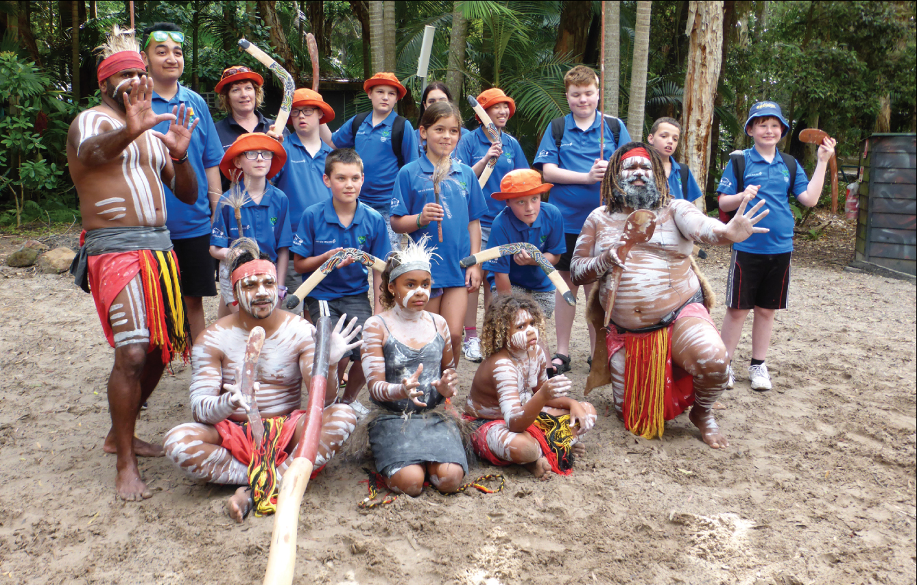 Otago kids enjoying the Koru Care Otago Trust trip to the Gold Coast in November.