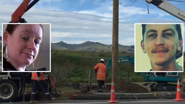 Renee Percy and Dennis William Tunnicliffe were killed in the crash. Photo: Supplied via NZME