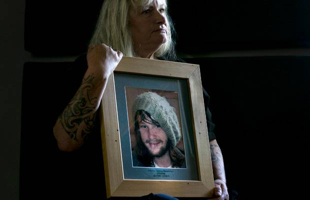 Jane Stevens, the mother of Nicky Stevens who killed himself after he walked out of the Henry...
