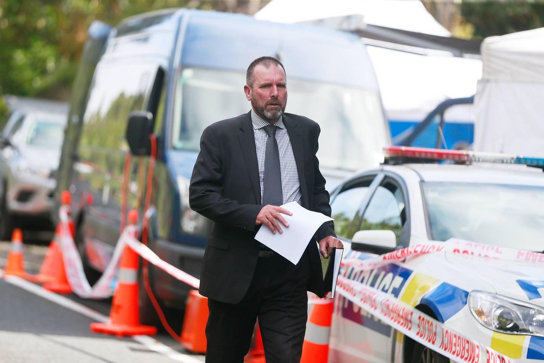 Detective Inspector Scott Beard. Photo: NZ Herald