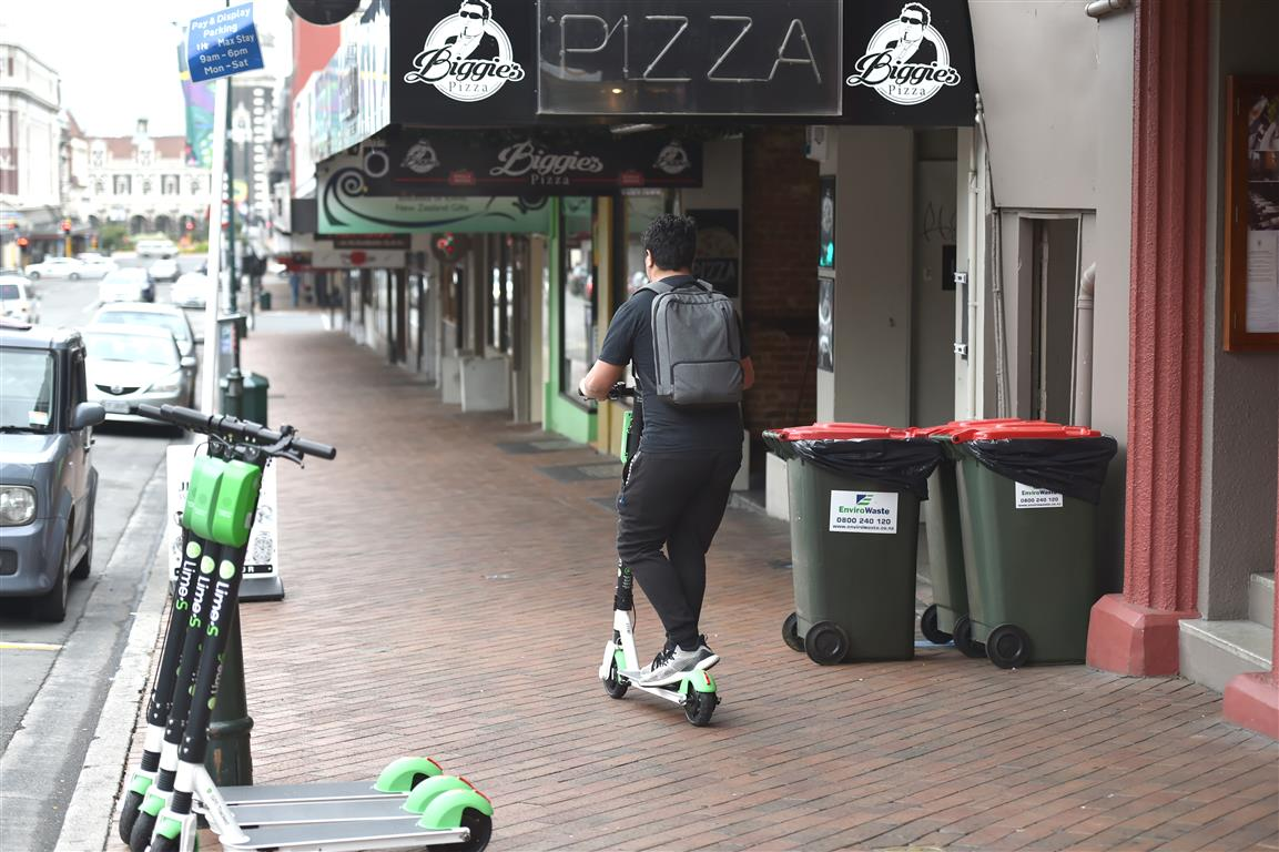 Another big jump in e-scooter claims | Otago Daily Times