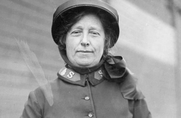 Annie Smyth in Salvation Army uniform, circa 1938. Photo: Alexander Turnbull Library