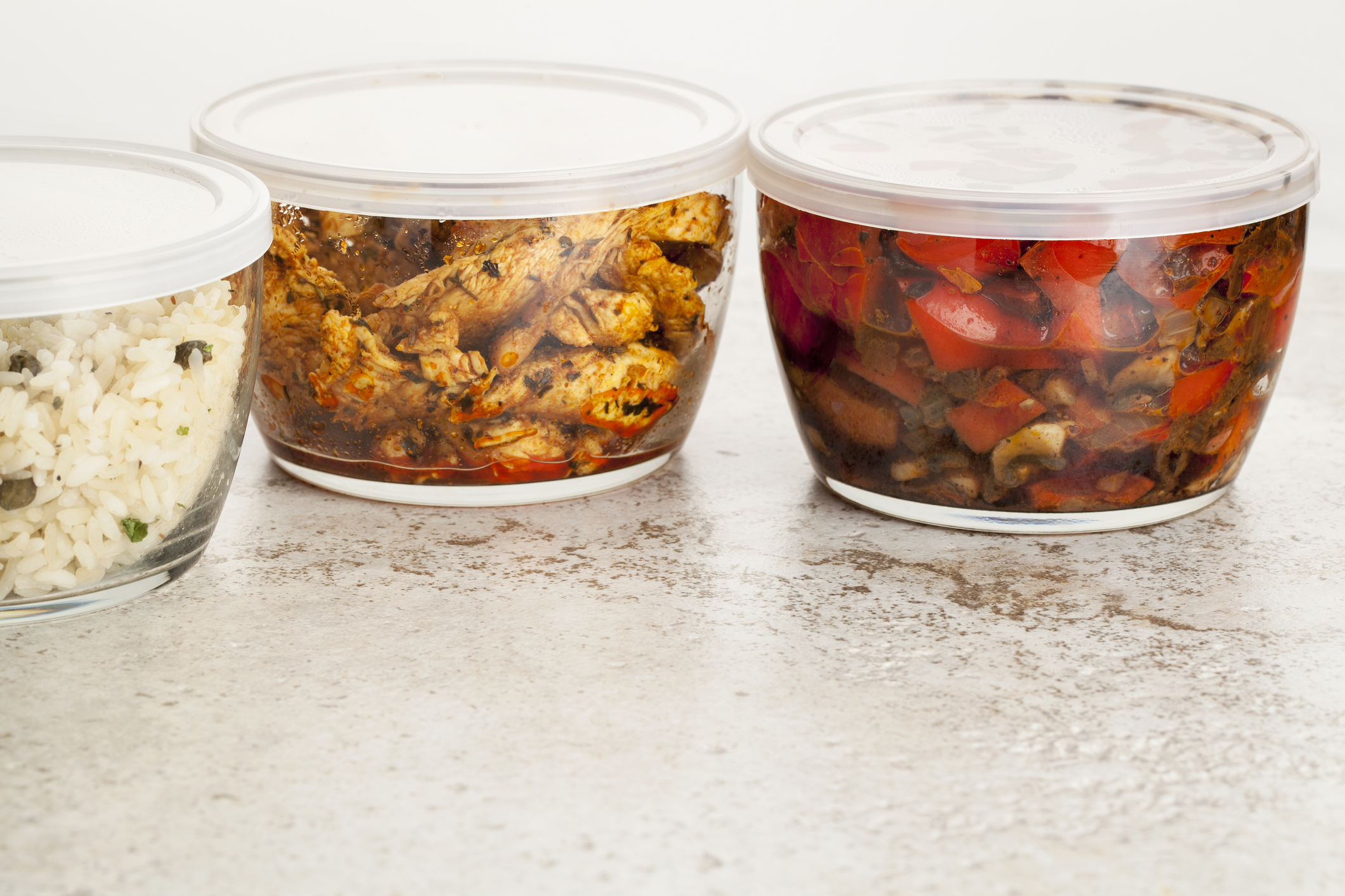 Pack leftovers into microwave-safe storage containers and refrigerate to take to work for lunch the next day. Photo: Getty Images