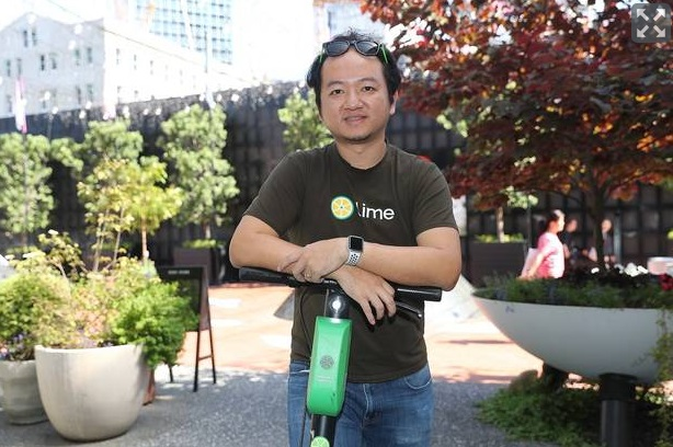 Lime CEO Toby Sun in Auckland recently. Photo: NZ Herald
