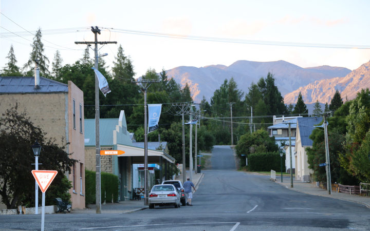 Naseby has a permanent population of 102 to 110, depending who you ask Photo: RNZ