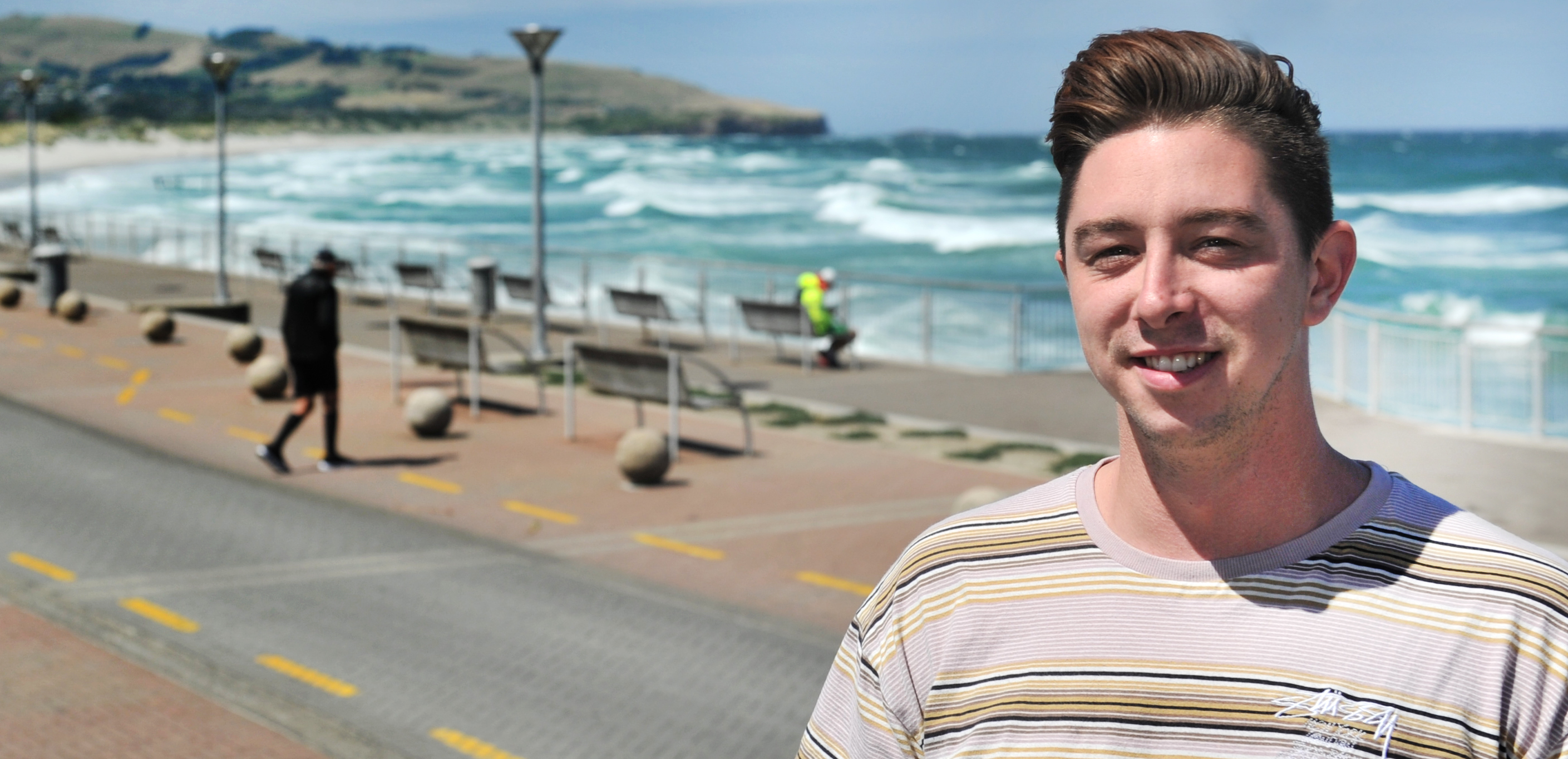 Zaibatsu Hair Art manager Cody McIlroy says pedestrianisation of the Esplanade in St Clair could...