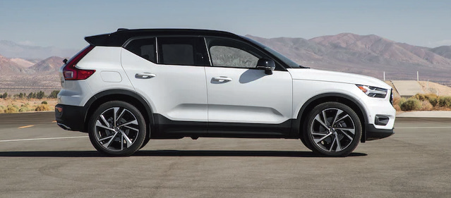 The recently launched Volvo XC40 compact SUV