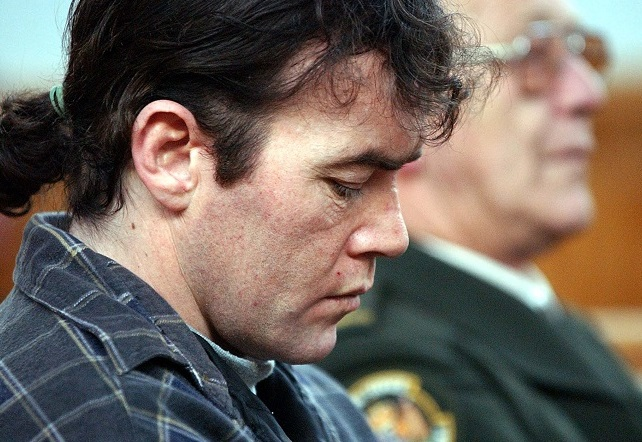 Jarrod Mangels during his High Court trial in 2004. Photo: Barry Harcourt