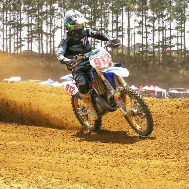 """Nick's dying wish was to have his organs donated and he """"gets to live on"""" the Patetonga MX Club..."""