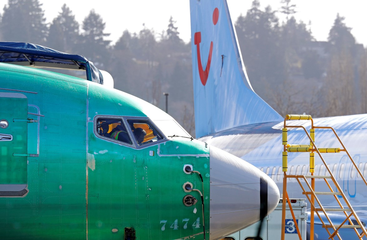 Boeing 737 Max 8s being built at Boeing's assembly plant in Renton, Washington. Photo: AP
