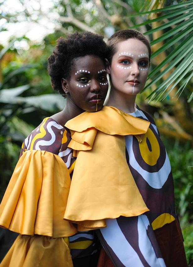 Tsega Gebremedihin's collection 'OMO'. Photo: Supplied