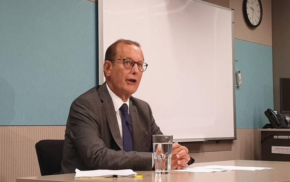Independent Police Conduct Authority chair Judge Colin Doherty. Photo: RNZ