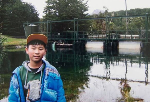 Mike Zhao-Beckenridge disappeared with his step-father four years ago. Photo via NZ Herald