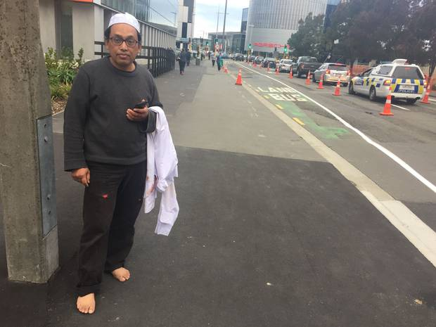 """'This is a disaster for New Zealand. A black day,"""" says survivor Noor Hamzah. Photo: NZME"""