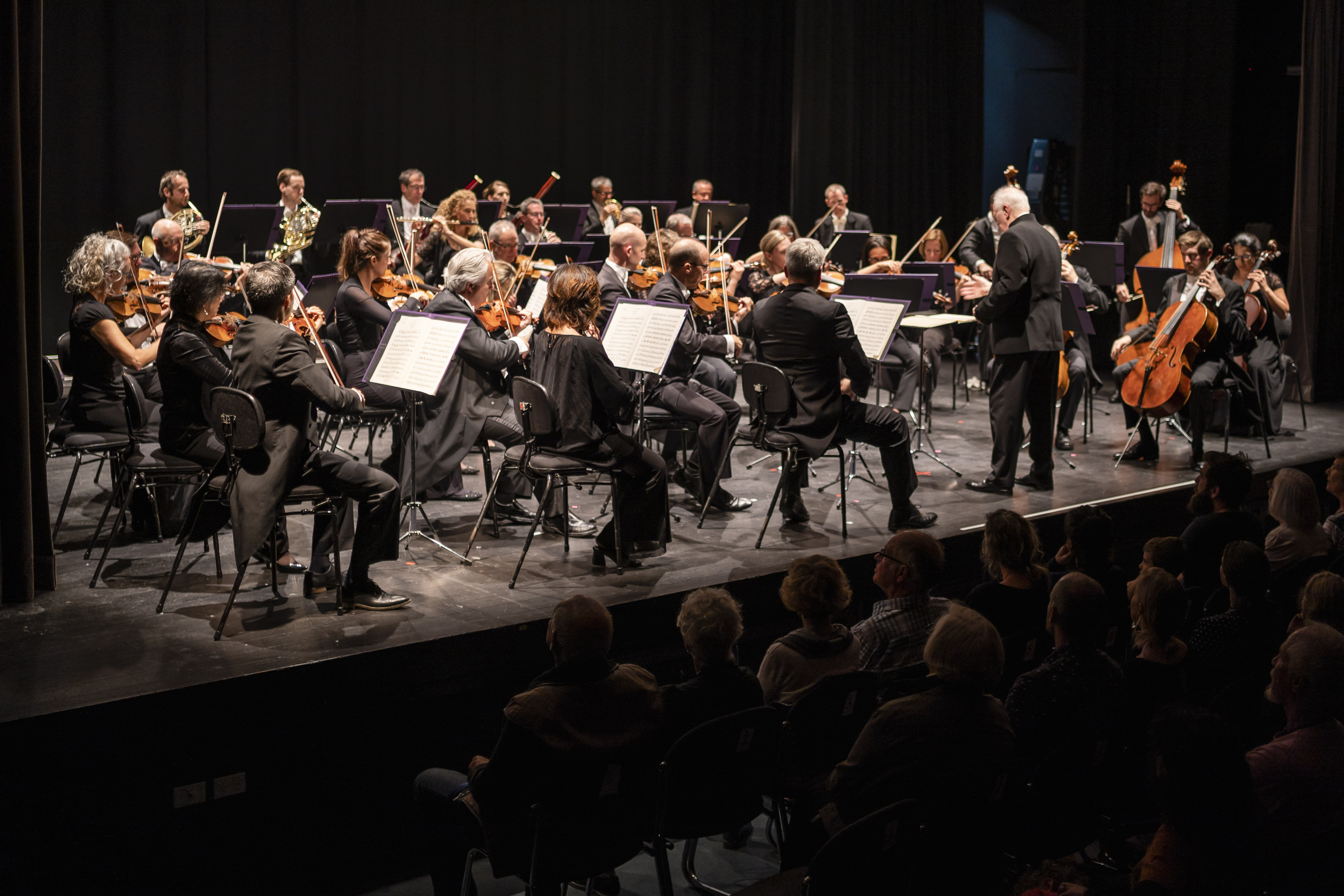 Hundreds packed the Lake Wanaka Centre on Monday night for the performance of the New Zealand...