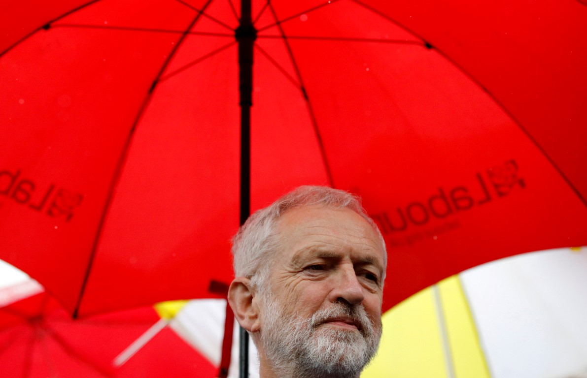 Labour Party leader Jeremy Corbyn. Photo: Reuters