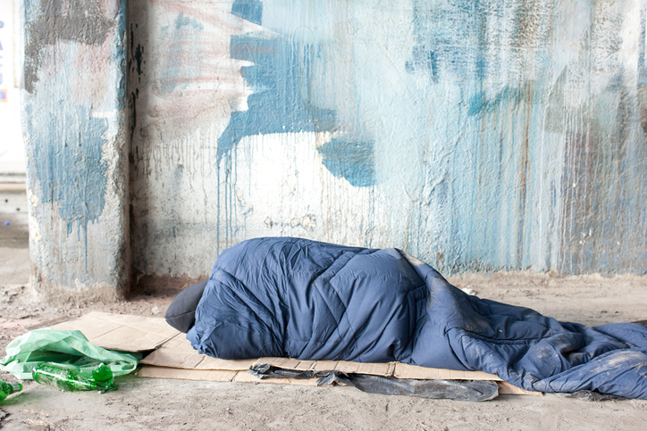 The Government says it is committed to tackling homelessness. Photo: Getty