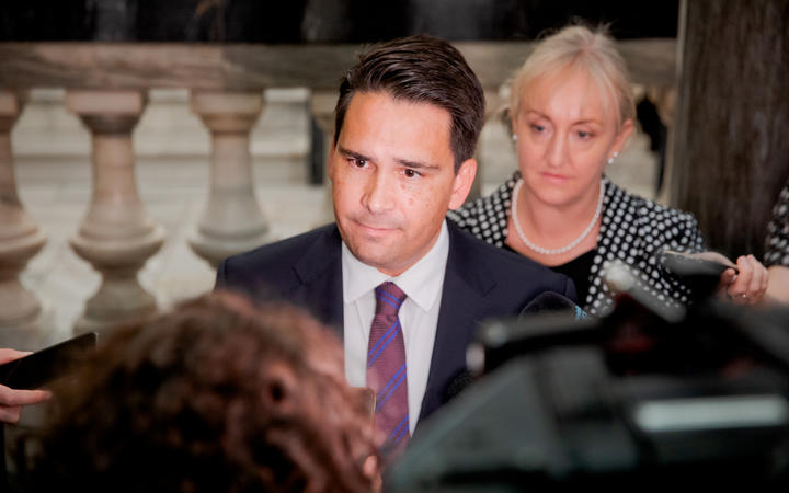 National leader Simon Bridges. Photo: RNZ