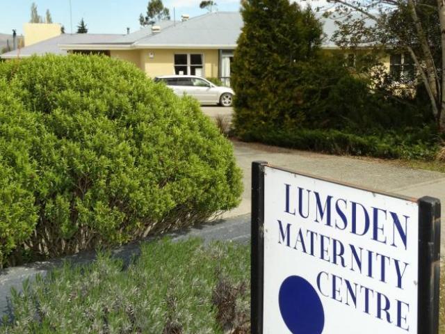 Lumsden Maternity Centre. Photo: ODT files