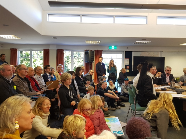 Queenstown Lakes District Council passed a motion to declare a climate emergency by a vote of 7-4. Photo: Paul Taylor