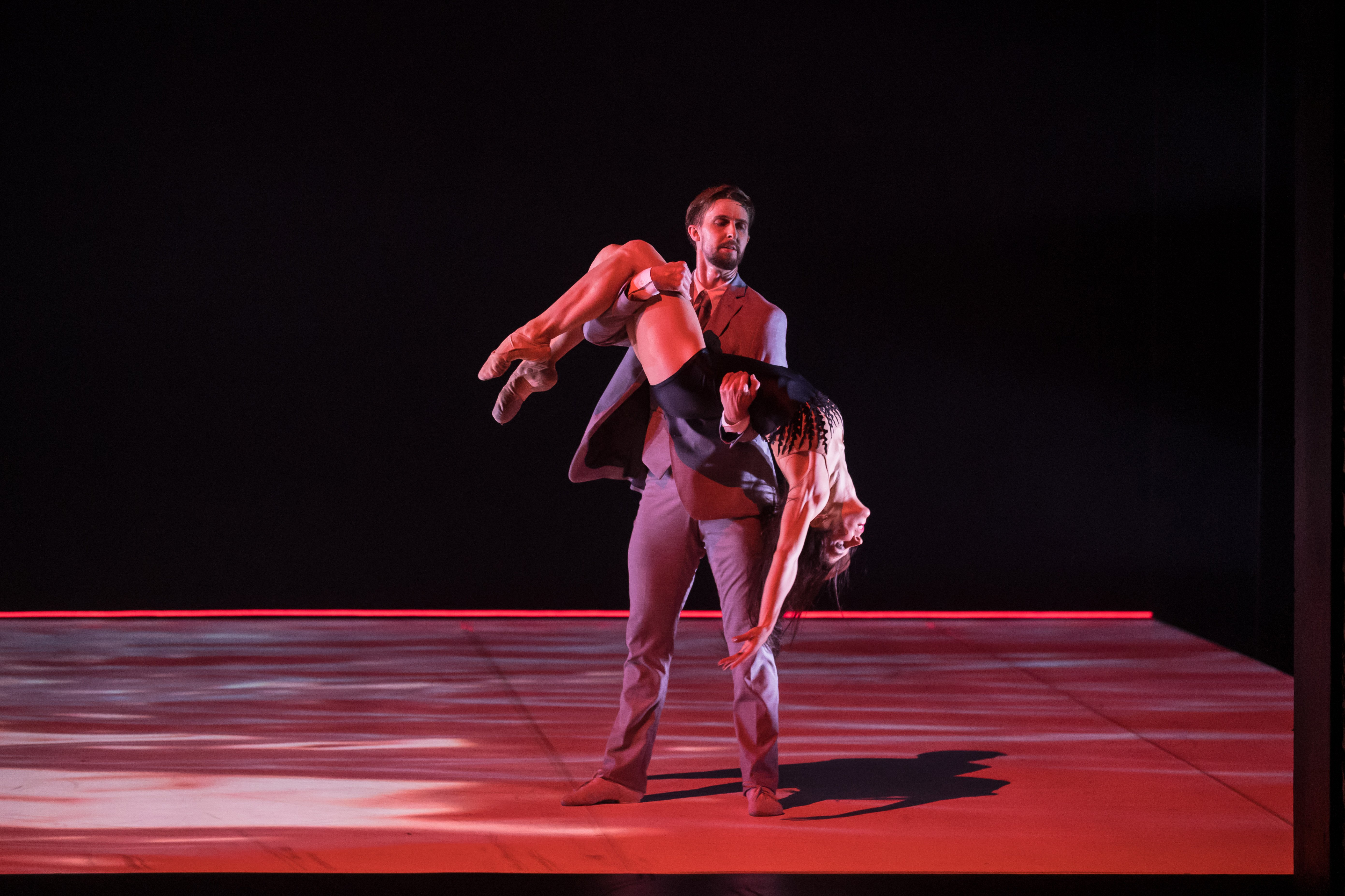 RNZB principal dancers Paul Mathews and Nadia Yanowsky. Photo: Stephen A'Court