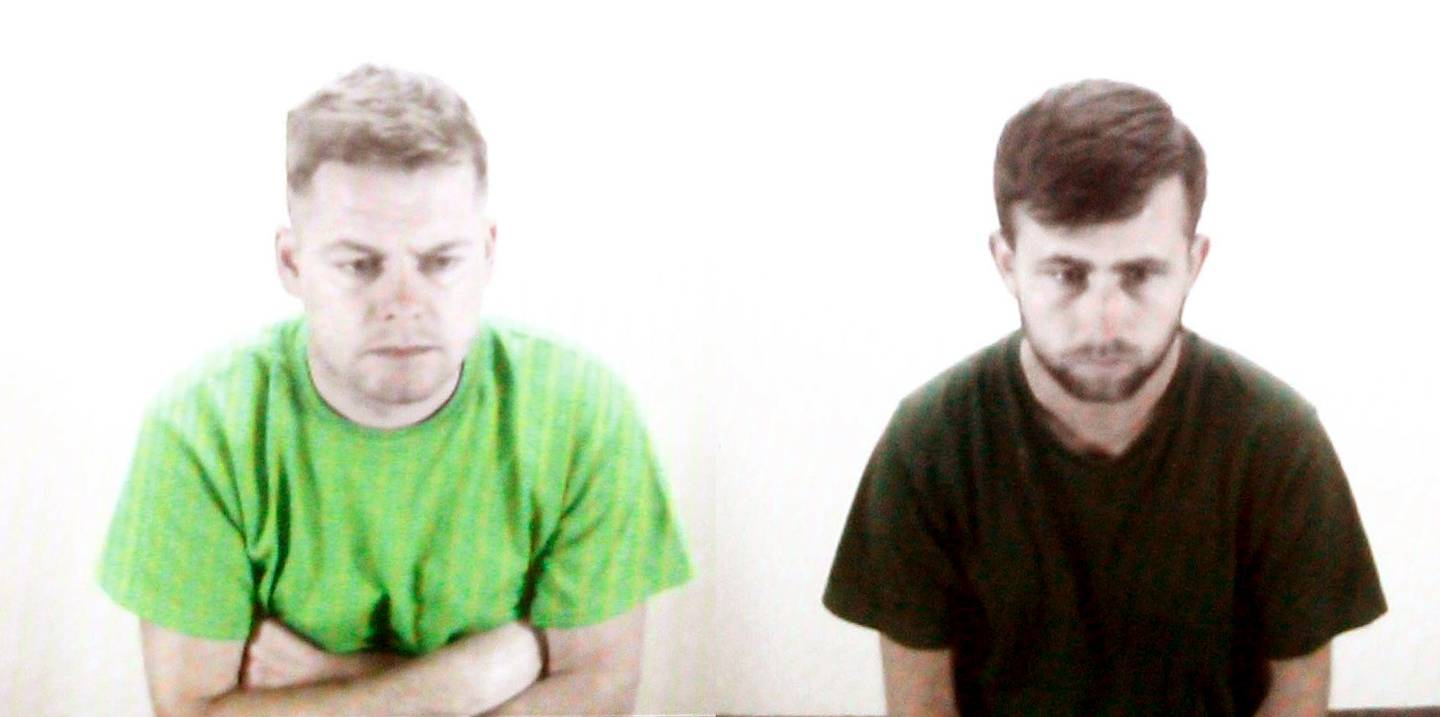 Tommy Ward (left) and William Donohue were deported back to the UK. Photo: NZME