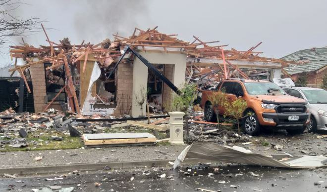 Suspected gas explosion injures several people in Christchurch, New Zealand