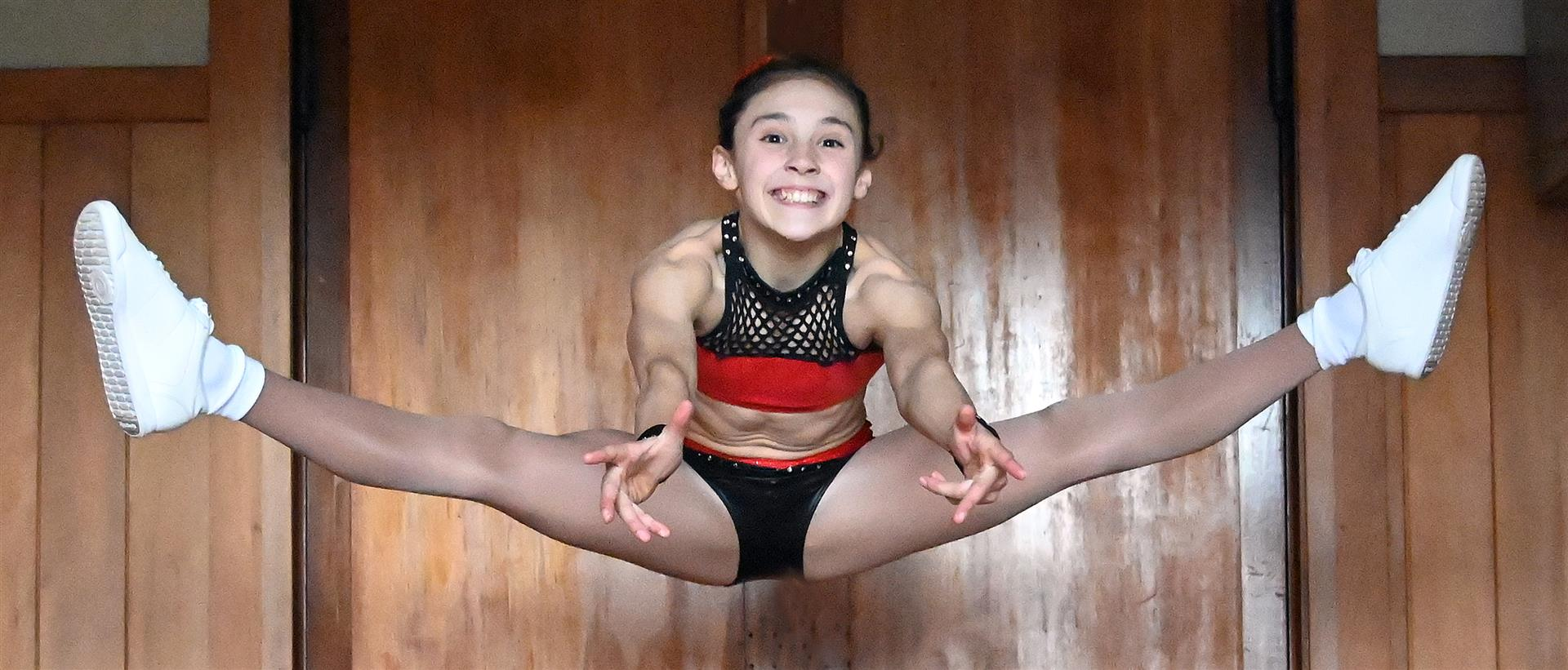 Tahuna Normal Intermediate year 7 pupil Saige Evans has been selected in the New Zealand aerobics...