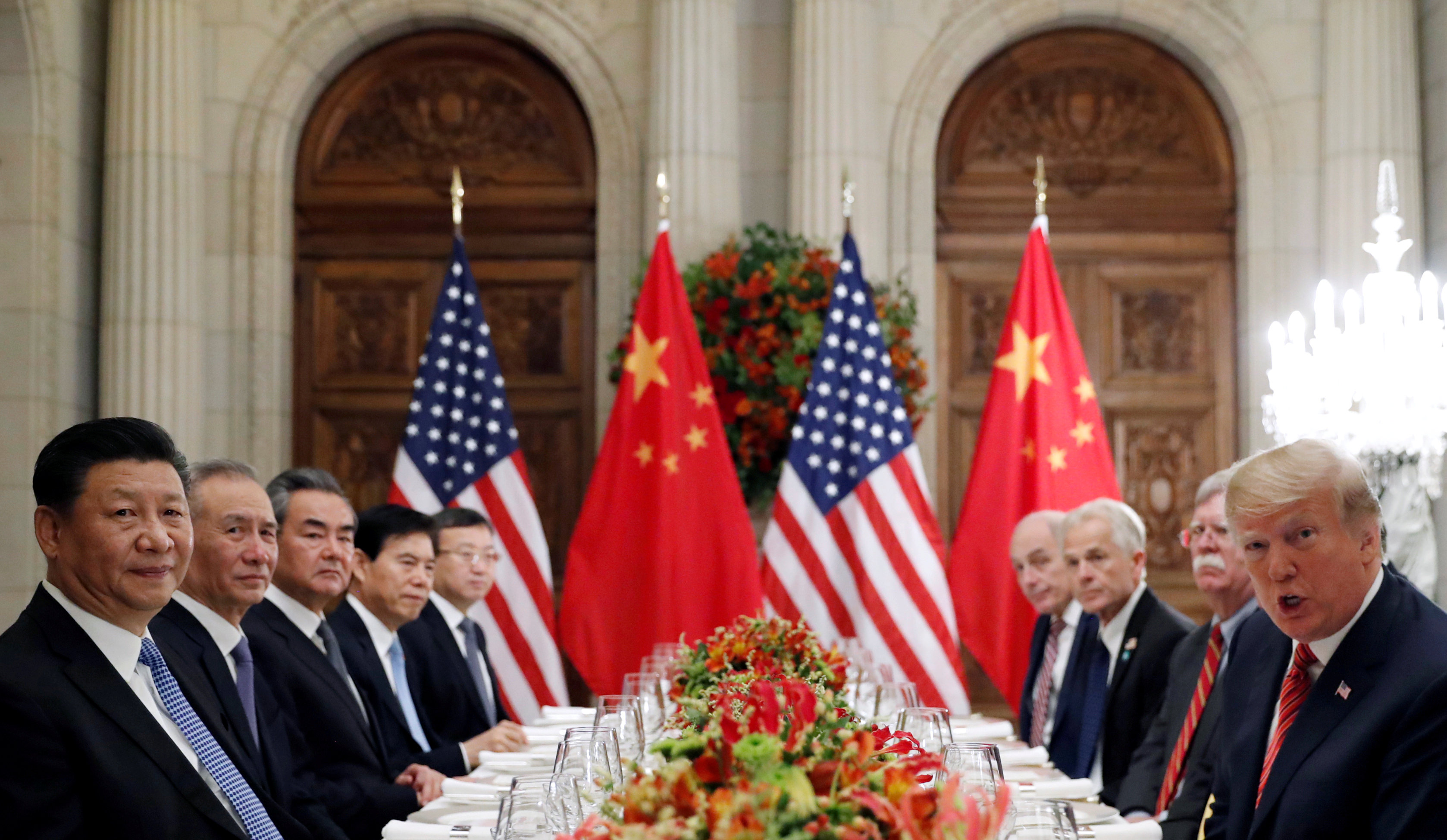 US President Donald Trump and Chinese President Xi Jinping meet to discuss the ongoing trade war...
