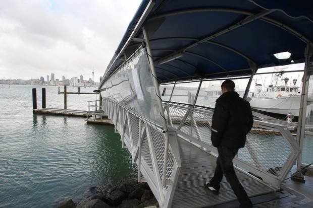 Shocked and concerned ferry passengers called police after seeing what Garlick was doing. Photo:...