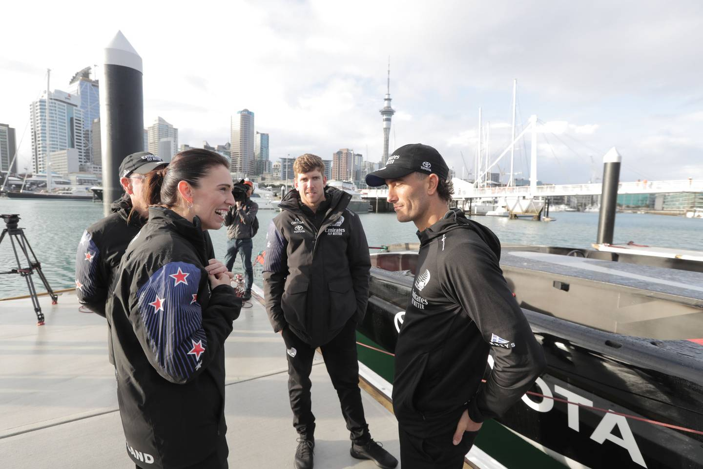 Prime Minister Jacinda Ardern was on hand for the launch. Photo: NZ Herald