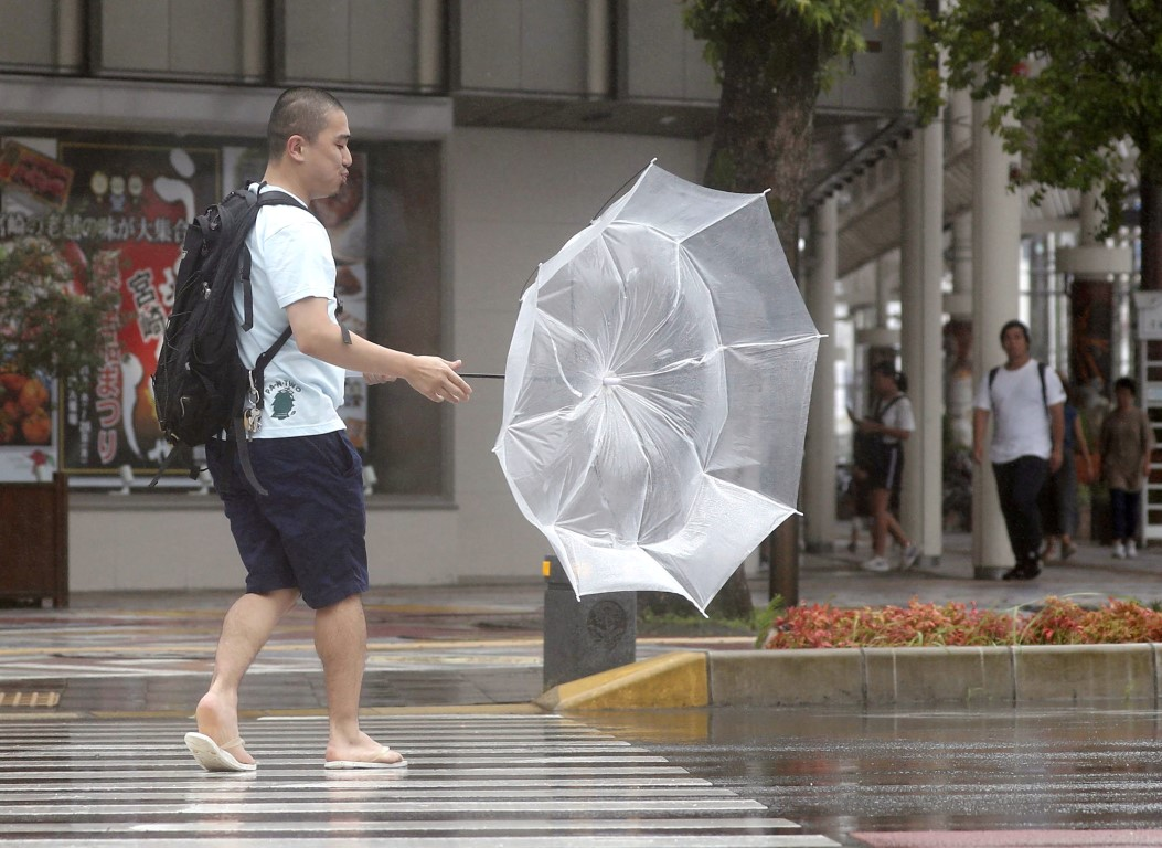 Around four to five typhoons make landfall in Japan every year. File photo: Reuters