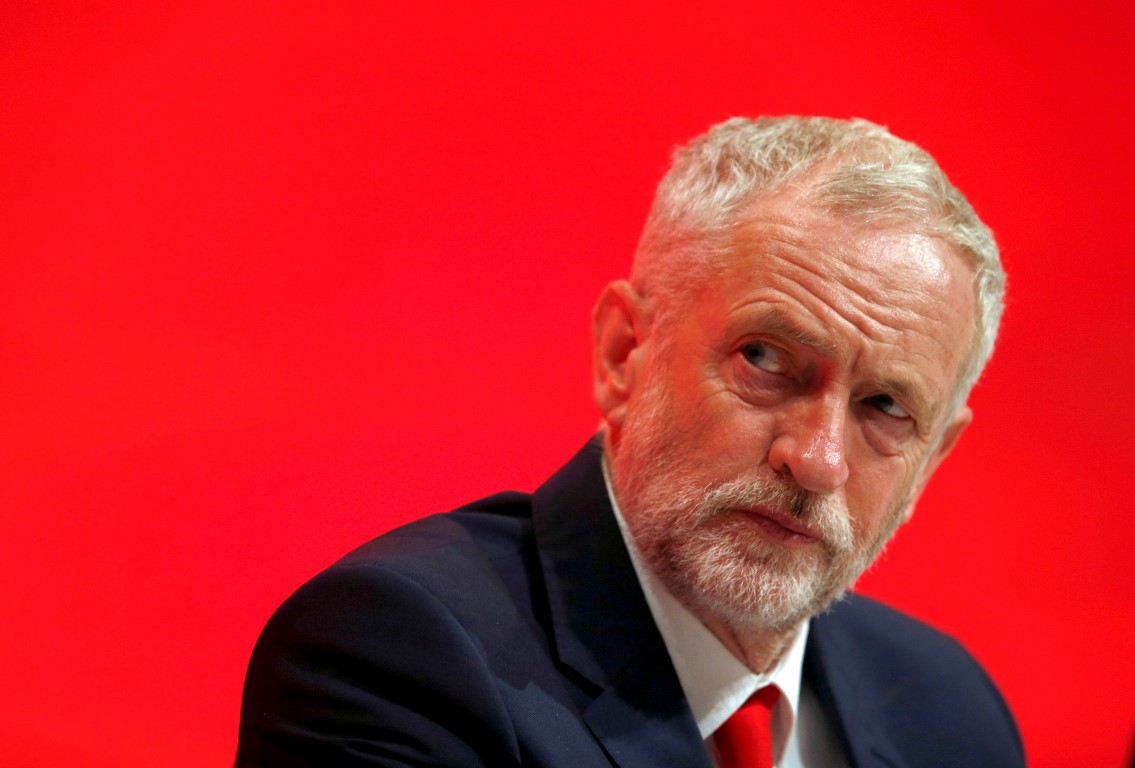 Opposition Labour Party leader Jeremy Corbyn. Photo: Reuters