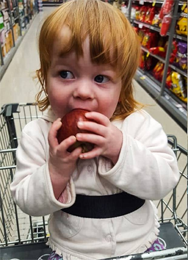 2-year-old Ariah Roberts was allegedly killed in Mangawhai Heads in 2018. Photo: Supplied