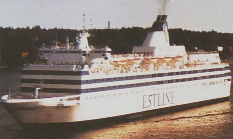 The passenger ferry Estonia sank with the loss of 852 lives, but is barely known in English...
